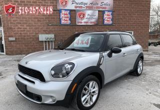 Used 2013 MINI Cooper Countryman S/ALL4/CERTIFIED/SAFETY INCLUDED for sale in Cambridge, ON