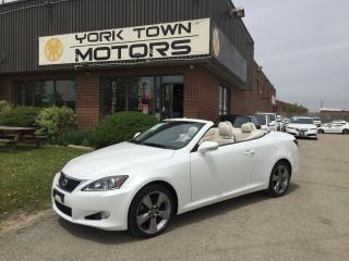 Used 2012 Lexus IS 250 Luxury/Conv/A6/RWD/Nav/BackCam for sale in North York, ON