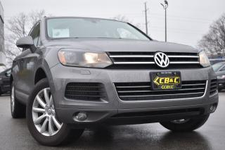 Used 2012 Volkswagen Touareg Comfortline - NAVIGATION - LEATHER for sale in Oakville, ON