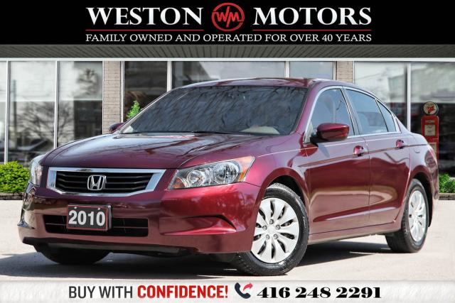 2010 Honda Accord LX*POWER GROUP*UNBELIEVABLE SHAPE!!