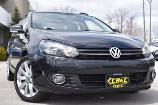 Used 2013 Volkswagen Golf Wagon HIGHLINE - NO ACCIDENTS - NAVI - WE FINANCE for sale in Oakville, ON