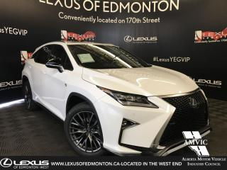New 2019 Lexus RX 350 F Sport SERIES 2 for sale in Edmonton, AB
