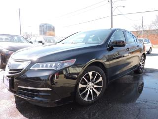 Used 2015 Acura TLX NAVI | BLIND SPOT | LEATHER | SUNROOF for sale in BRAMPTON, ON