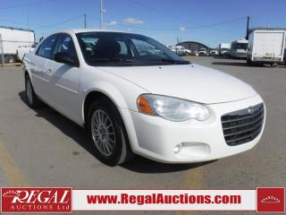 Used 2004 Chrysler Sebring Touring 4D Sedan for sale in Calgary, AB