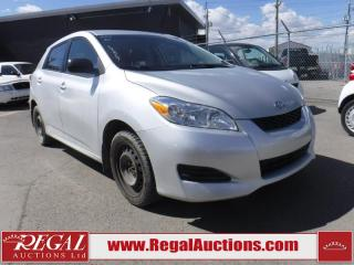 Used 2010 Toyota Matrix Base 4D Hatchback for sale in Calgary, AB