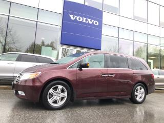 Used 2013 Honda Odyssey Touring Local Car No Accident Claim 12.2-inch DVD! for sale in Surrey, BC
