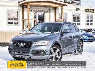 Used 2015 Audi Q5 3.0T Technik Sline pkg B&O DRIVE SELECT 55KKMS!! for sale in Ottawa, ON