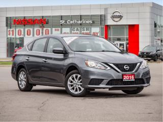 Used 2016 Nissan Sentra 1.8 SV Off lease  ! for sale in St. Catharines, ON