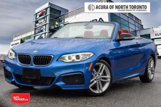 Used 2016 BMW 228i Xdrive Cabriolet No Accident| Navigation| for sale in Thornhill, ON