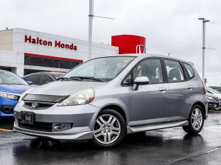 Used 2007 Honda Fit Sport for sale in Burlington, ON