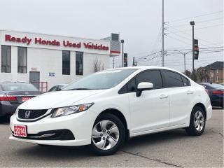 Used 2014 Honda Civic Sedan LX - Bluetooth - Heated Seats for sale in Mississauga, ON