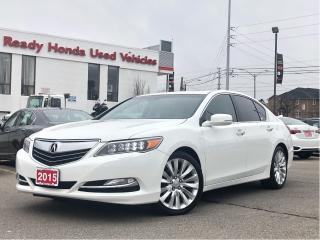 Used 2015 Acura RLX - Navigation - Sunroof - P-AWS Tech Pkg for sale in Mississauga, ON
