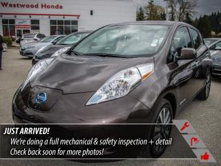 Used 2016 Nissan Leaf SV - ZERO EMISSIONS for sale in Port Moody, BC