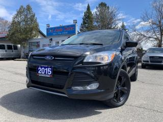 Used 2015 Ford Escape 4WD 4dr SE Black Edition  ONE OWNER ACCIDENT FREE for sale in Brampton, ON