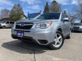 Used 2015 Subaru Forester 5dr Wgn Auto 2.5i AWD w/ Bluetooth & Backup CAM.. LOW KM! for sale in Brampton, ON