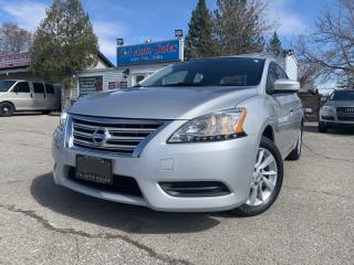 Used 2014 Nissan Sentra 4dr Sdn w/ Backup Camera, Bluetooth & Navi.. ACCIDENT FREE! for sale in Brampton, ON