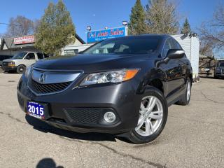 Used 2015 Acura RDX AWD 4dr Tech Pkg ONE OWNER & ACCIDENT FREE for sale in Brampton, ON
