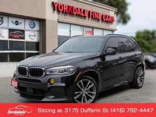 Used 2015 BMW X5 M SPORT HUD - 360 INTELLIGENT SAFETY - NAVIGATION, MINT for sale in Toronto, ON