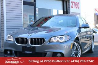 Used 2016 BMW 528 i xDrive M-SPORT NAVIGATION HEADS UP DISPLAY 360 BACK UP CAMERA for sale in Toronto, ON