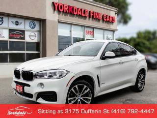 Used 2015 BMW X6 35i M SPORT, HUD, COLLISION WARNING, RED INTERIOR for sale in Toronto, ON