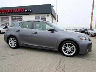 Used 2012 Lexus CT 200h TECH PKG NAVIGATION CAMERA CERTIFIED 2YR WARRANTY for sale in Milton, ON
