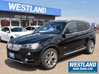 Used 2015 BMW X3 premium enhanced pkg for sale in Pembroke, ON