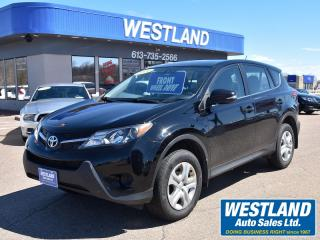Used 2014 Toyota RAV4 LE FWD for sale in Pembroke, ON