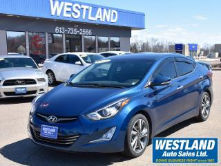 Used 2015 Hyundai Elantra Limited for sale in Pembroke, ON
