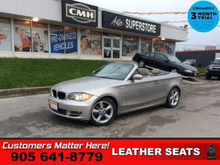 Used 2009 BMW 1 Series 128i  CONVERTIBLE BEIGE LEATHER for sale in St. Catharines, ON