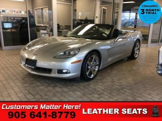 Used 2008 Chevrolet Corvette Base  3LT LEATH BOSE HUD P/SEATS MEM for sale in St. Catharines, ON