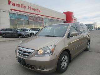 Used 2005 Honda Odyssey EX-L w/DVD Rear Entertainment System for sale in Brampton, ON