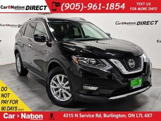 Used 2018 Nissan Rogue SV| AWD| PANO ROOF| BACK UP CAMERA| for sale in Burlington, ON