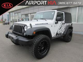 Used 2016 Jeep Wrangler Sport Manual/bluetooth/Large tires/ for sale in Mississauga, ON