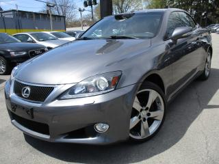 Used 2012 Lexus IS 250 C IS250C ~ CONVERTIBLE ~ 15,000KMS ONLY ~ ONE OWNER for sale in Burlington, ON