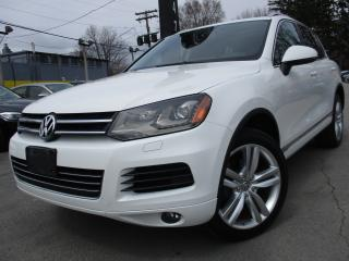 Used 2012 Volkswagen Touareg TDI HIGHLINE~ONE OWNER~57KMS~NAVI~PANO ROOF for sale in Burlington, ON