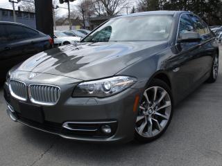 Used 2014 BMW 5 Series 535D XDRIVE~NAVI~DIESEL~LEATHER~SUNROOF !!!! for sale in Burlington, ON