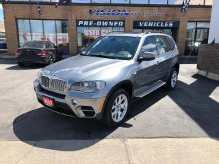Used 2012 BMW X5 xDrive35d (A6)/NAVIGATION/PANO ROOF/B UP CAMERA for sale in North York, ON