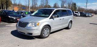 Used 2008 Chrysler Town & Country Limited 182k dvd safetied Limited for sale in Madoc, ON