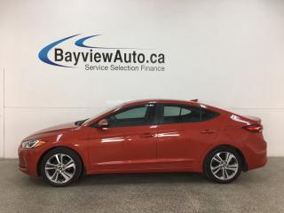 Used 2017 Hyundai Elantra SE - AUTO! ONLY 13,000KMS! HTD LTHR! SUNROOF! ALLOYS! for sale in Belleville, ON