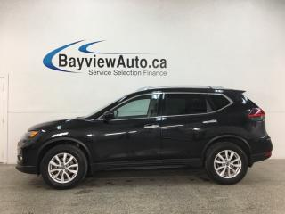 Used 2018 Nissan Rogue SV - AWD! REV CAM! PANOROOF! BLUETOOTH! PWR GROUP! for sale in Belleville, ON