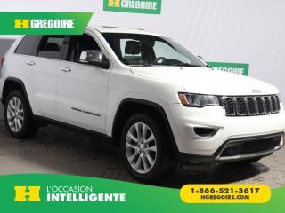 Used 2017 Jeep Grand Cherokee Ltd 4x4 Cuir Toit for sale in St-Léonard, QC