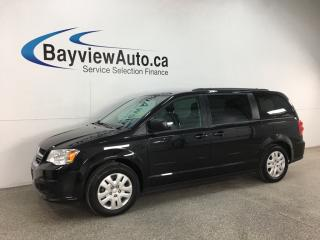 Used 2017 Dodge Grand Caravan CVP/SXT - A/C! CRUISE! ECO MODE! FULL PWR GROUP! for sale in Belleville, ON