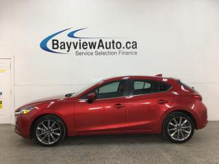 Used 2018 Mazda MAZDA3 GT - AUTO! LTHR! NAV! SUNROOF! for sale in Belleville, ON