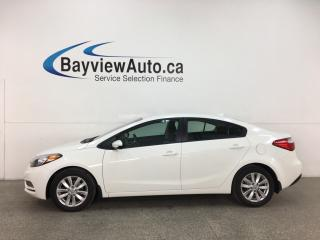 Used 2016 Kia Forte 1.8L LX - AUTO! A/C! PWR GROUP! ALLOYS! + MORE! for sale in Belleville, ON
