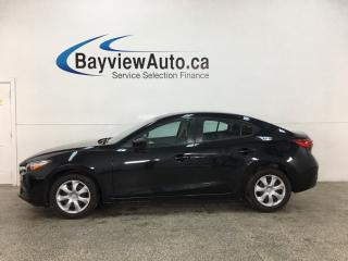 Used 2017 Mazda MAZDA3 GX - AUTO! A/C! PWR GROUP! 34,000KMS! for sale in Belleville, ON