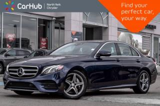 Used 2017 Mercedes-Benz E-Class E 300|Driving.Assist,Smartphone.Tech,AMG.Styling.Pkgs| for sale in Thornhill, ON