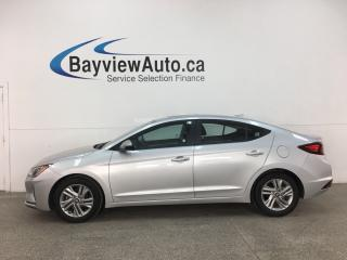 Used 2019 Hyundai Elantra Preferred - AUTO! SUNROOF! HTD SEATS! REVERSE CAM! ALLOYS! for sale in Belleville, ON