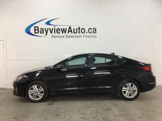 Used 2019 Hyundai Elantra Preferred - AUTO! HTD SEATS! SUNROOF! A/C! PWR GROUP! + MORE! for sale in Belleville, ON