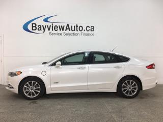 Used 2018 Ford Fusion Energi Titanium - LEATHER! ROOF! NAV! ONLY 5000KMS! for sale in Belleville, ON
