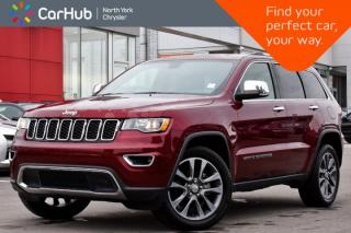 Used 2018 Jeep Grand Cherokee Limited 4x4 Heat.Seats Sunroof Bluetooth Backup_Cam  for sale in Thornhill, ON